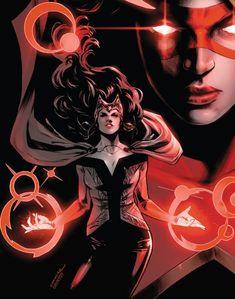 Magik Marvel, Marvel Art, Marvel Dc Comics, Heros Comics, Dc Comics Girls, Marvel Characters, Marvel Movies, Scarlet Witch Comic, Best Avenger