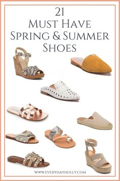 9f94a7928bf2 21 Must Have Affordable Spring   Summer Shoes - Everyday Holly