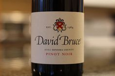David Bruce Pinot Noir Reviewed - Oh it's Good!