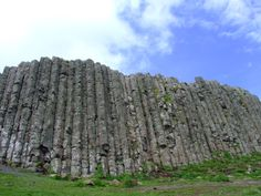 Interesting fact. The Giant's Causeway is an area of about 40,000 interlocking basalt columns, the result of an ancient volcanic eruption. It is located in County Antrim on the northeast coast of Northern Ireland. via Wikipedia