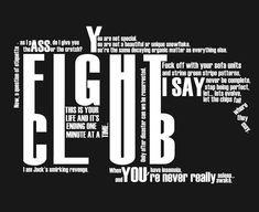 fight club quotes - Google Search