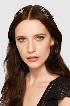 3e552daf552 Jennifer Behr - Venus Circlet gunmetal-plated Swarovski crystal headband