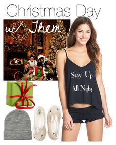 """""""•Christmas Day w/ Them•"""" by fangirl-1d ❤ liked on Polyvore featuring Wildfox and ASOS"""