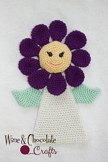 Flower Lovey #CROCHET #PATTERN