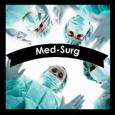 Medical-Surgical (Med-Surg) Nursing textbooks Med-Surg is usually a 2-part course covered in the 2nd semester/level of the nursing program @iStudentNurse #NurseHacks  #Nursing #Textbooks #MedSurg
