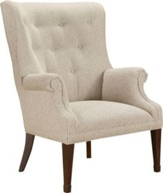 Isaac Wing Chair from the James River collection by Hickory Chair Furniture Co.