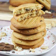 Ciasteczka z masłem orzechowym Biscotti, Oreo, Pancakes, Cookies, Baking, Breakfast, Recipes, Food Ideas, Gastronomia