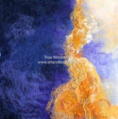 Rae Woolnough love of art and textiles has been a life long passion.Rae exhibits her artwork regularly and held in private collections internationally Australian Art, Nuno Felting, Handmade Felt, Textile Artists, Felt Art, Color Combos, Sculptures, Textiles, Artwork
