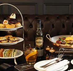 Gentleman's Afternoon Tea at The Reform Social & Grill at The Mandeville Hotel