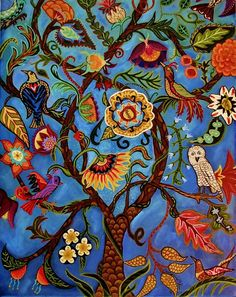 Tree Of Life II by Catherine Nolin
