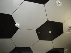 For a boys room or playroom, school gym, soccer ball mural. Vinny would love this!