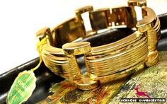 ROSE GOLD echtes 50er Vintage Armband unbenutzt! von Schloss Klunkerstein - Geschenke, Uhren, handgefertigter Unikat Schmuck aus Naturmaterialien, romantische Medaillons & Kettenuhren, nostalgische Steampunk, Boho, Shabby & Vintage Einzelstücke und viele liebevolle Schätze auf DaWanda.com