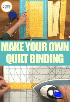 How many times have you had a friend or your long arm quilter make you a binding for your quilt? Being a long arm quilter myself, I have had the honor of doing this task more times than I'd like to admit. For some reason this last step in your quilt leaves many quilters in a cold sweat. Luckily Dana Jones helps clear the air in this helpful video on making quilt binding.