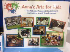 Anna's Arts for Kids had a display and we were treated t a fun children's choir flash mob! #EDOLA15