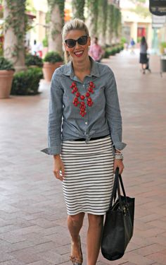 Perfection Possibilities: Stripes + Chambray