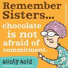 chocolate is not afraid!!