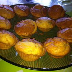 Tuna, cheese and onion muffins
