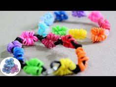 How to make Life Savers rubber band Bracelets tutorial New Rainbow Loom Bracelets DIY Kawaii Mathie - YouTube