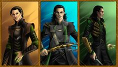 Change by Berende Loki through 3 movies. This eventually needs to include Ragnarok
