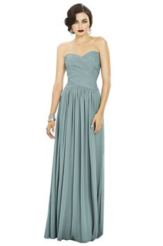 Shop Dessy Bridesmaid Dress - 2880 in Lux Chiffon at Icelandic