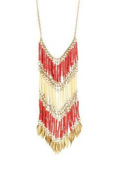 I so love this Type 3 necklace. The metal could be a little less on the shiny side. Other than that, divine.