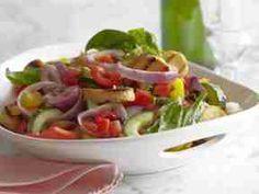 http://m.foodnetwork.com/recipes/289967 Grilled Panzanella via Ina Garten