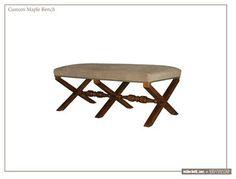 Custom Maple Bench