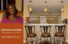 Rhonnika Clifton - Interior Design Decorator Diva LLC Interview: http://shandraward.com/wordpress/rhonnika-clifton-interior-design/