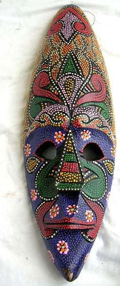 Aboriginal Designs and Patterns   ... aboriginal artist designs online, tribal masks catalog warehouse, bali