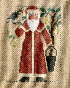 cross stitch counted needlepoint christmas Prairie Schooler