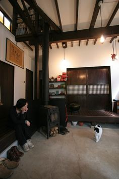 The best botanical furnishing ideas for your home Japanese Style House, Traditional Japanese House, Japanese Modern, Japanese Interior Design, Modern Design, Interior Design Salary, Design Blogs, Japanese Architecture, Best Interior