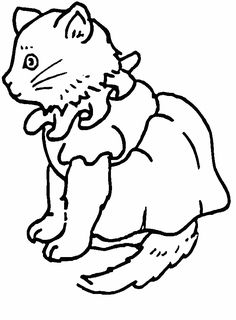 cat color pages printable cats cat5 animals coloring pages coloring book - Animals Coloring Pages Printable