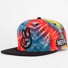 NEFF Tie Dye Mens Snapback Hat | Snapbacks | Tillys.com