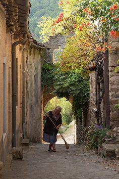 Penne, medieval village, Tarn, France