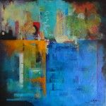 juleshorn.co.uk - Ephemera of Mindfulness - abstract painting