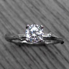 Handmade Engagement Rings   Diamonds, Moissanite, Twigs