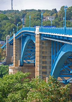 The 31st St Bridge was opened in 1928. It carries 31st Street across the Allegheny River and connects to Route 28 on the north side of the river.