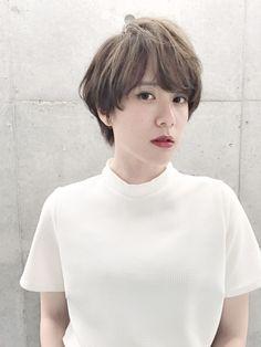 Short Textured Bob, Short Hair Styles, Hair Beauty, Face, Hair Ideas, Korea, Hairstyles, Japanese, Fashion