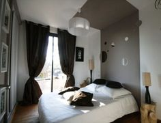 1000 ideas about lit plafond on pinterest poutre bois head bed and headboards - Bed plafond ...