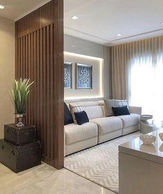 House Design, Home Room Design, Living Room Design Modern, Room Color Combination, Living Room Decor Apartment, Sala, Living Room Designs, Room Partition Designs, Living Room Partition Design
