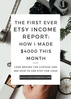 As far as google thinks, I'm the first blogger to publish an income report specifically for my Etsy shop. And believe me: I'm scared shitless about it. It's creepy to share your finances online. It pretty much violates every financial commandment handed down to me by my (stereotypically Jewish) parents…but I promise you, I have a higher purpose: I'm sick of giving advice about Etsy success when you can't visibly see how that advice is working for me. Click to see how I did this month!