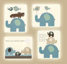 Baby boy room Nursery wall art print Baby by DesignByMaya on Etsy, $65.00