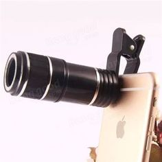 12X Universal Telephoto Lens Mobile Phone Optical Zoom Telescope Camera For iPhone Samsung Sale - Banggood.com