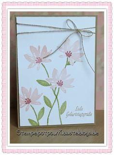 Stampin up  Sale-a-bestinformiert Gartengrüße  Stempelpotpourri.bastelblogs.de