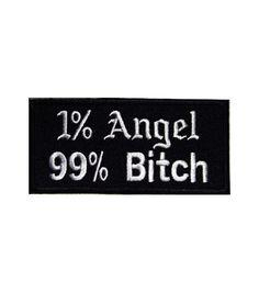 1 Angel 99 Bitch | Biker Clothing | Women's & Men's Motorcycle Apparel | Biker Clothing Company