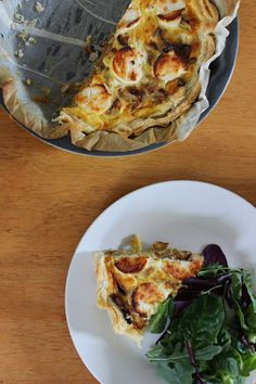 Miso and potato tart - La Page Cornee