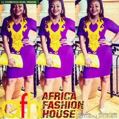 Embroidery Dress by Africa Fashion House