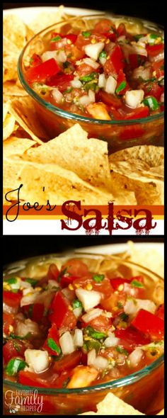 Joe's Salsa is an al