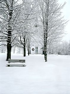Winter in New England: Winter Church, Sugar Hill, New Hampshire by markkleinphoto.com