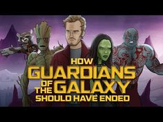 How Guardians of the Galaxy Should Have Ended - Love it!!!!